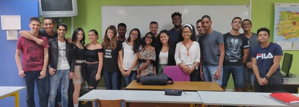 Les étudiants de 1ère année 2018-2019 en espagnol